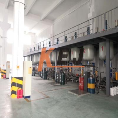 科易杰液体调和系统应用于润滑油企业